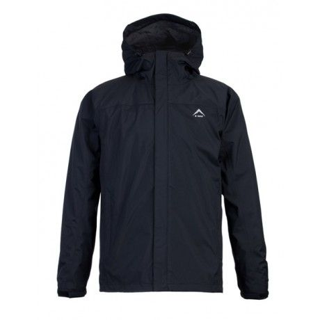 K-Way's Franklin is a lightweight rain shell jacket made from nylon rip-stop with a milky coating. Waterproof and vapour permeable, the jacket is also fully seam-sealed and features a reinforced peak and rollaway hood. Engineered arm articulation (at the elbow points) and an adjustable hem and cuffs ensure a comfortable, secure fit.