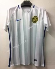 2016-17 Malaysia Home White Thailand Soccer Jersey
