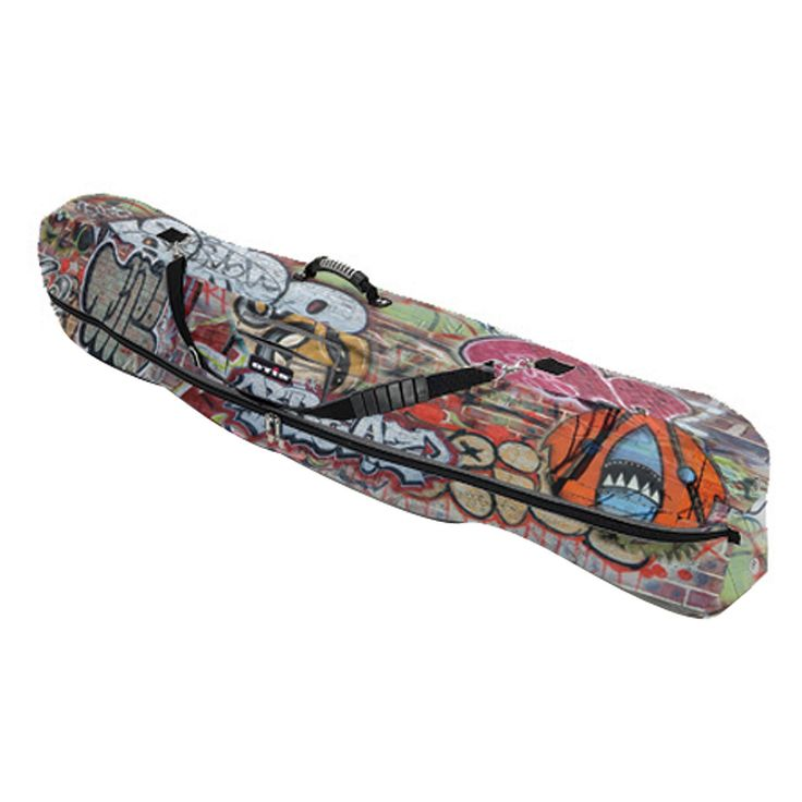 Athalon Graffiti 66 in. Fitted Snowboard Bag pattern Lumber Jack - 356LJ
