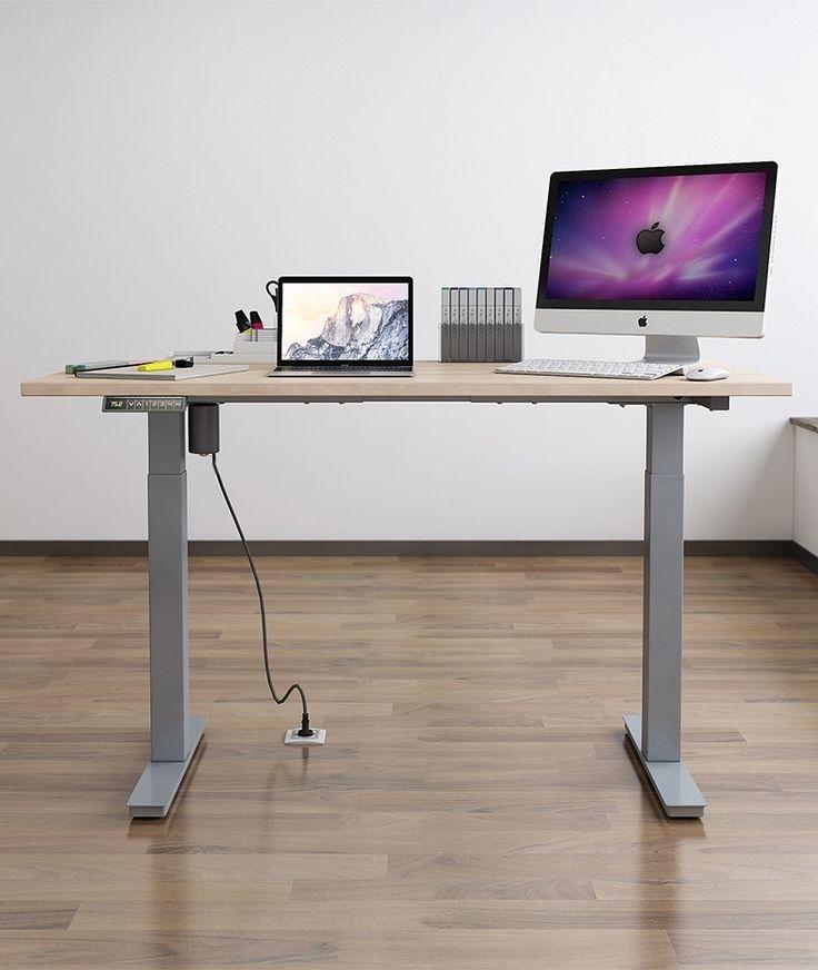 Carrefour Bureau Bureau 180 Cm Unique Rehausseur Chaise Carrefour Chaise De Bureau Standing Desk Home Home Decor