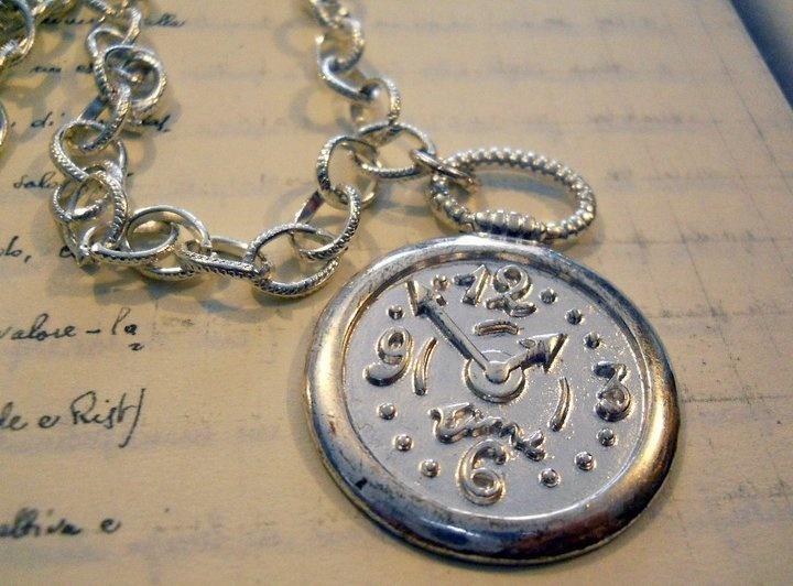 Collana orologio, by JANAS, 15,00 € su misshobby.com