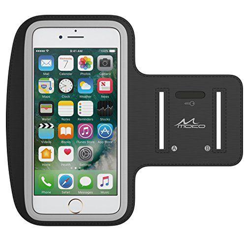 MoKo+Armband+for+iPhone+7+Plus+/+6s+Plus+/+6+Plus,+Sweatproof+Sports+Armband+Running+Arm+Band+for+iPhone+7+Plus,+6S+Plus,+Samsung+S8+Plus,+S7+Edge,+Note+4+/+5,+J7,+Black+(Fits+Arm+Girth+10.8″-16.5″)