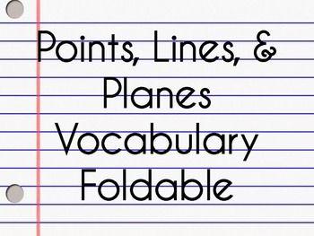 Needing Help With Geometry Terms.?
