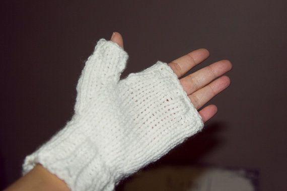 gants sans doigt mitainea moufles tricot par CreationsArtPhoto