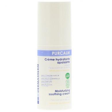 Le Purcalm Crème Hydratante Apaisante DERMATHERM, réconforte, adoucit et calme la peau, même sensible ou allergique. Peaux mixtes à sèches.