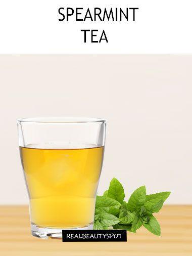 BENEFITS & USES SPEARMINT TEA