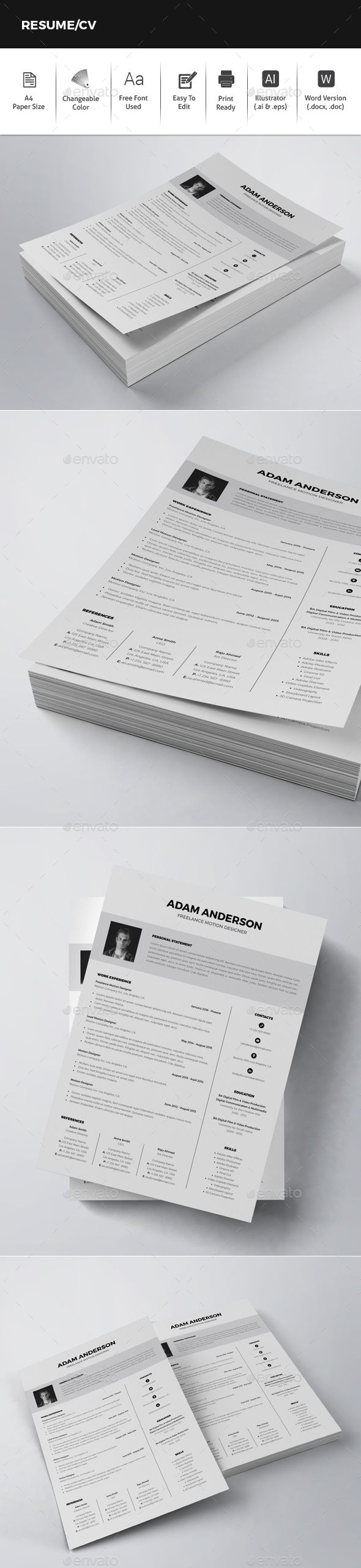Download Resume Template Microsoft Word%0A Resume CV