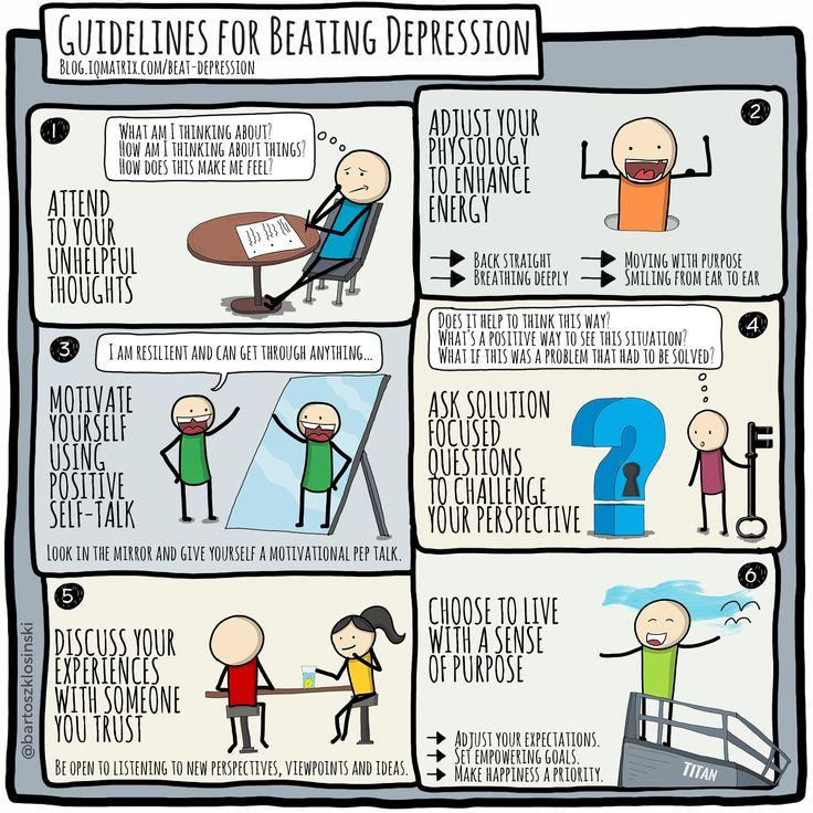 How to Beat Depression: http://blog.iqmatrix.com/beat-depression