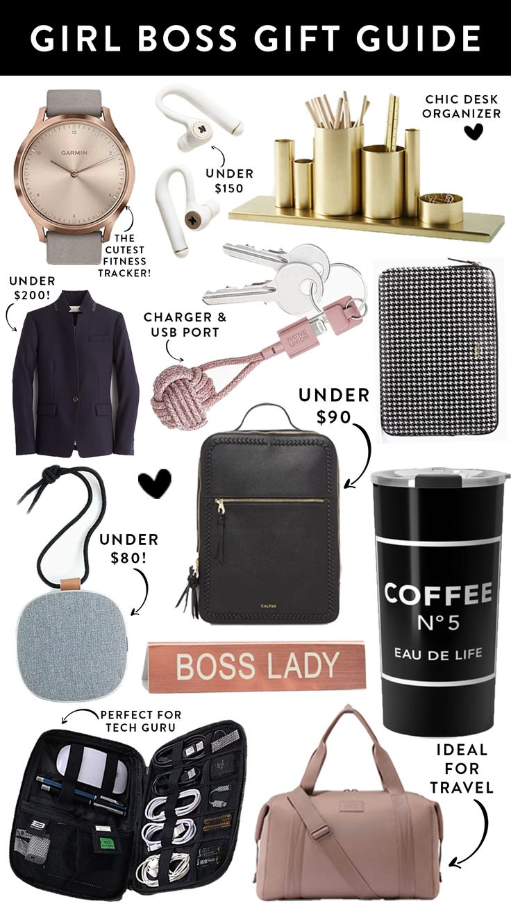 Girl Boss Gift Guide | Gifts for boss, Boss birthday gift ...
