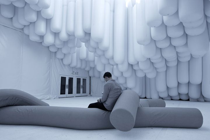 Drift pavilon at Design Miami 2012 by Snarkitecture, Miami