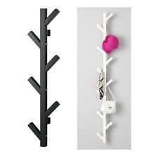 Ikea wall mounted hanger hook coat hat clothes shoe rack for Ikea coat and hat rack