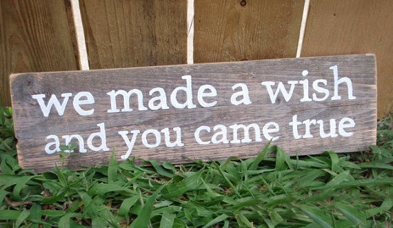 adorable quote for baby's room