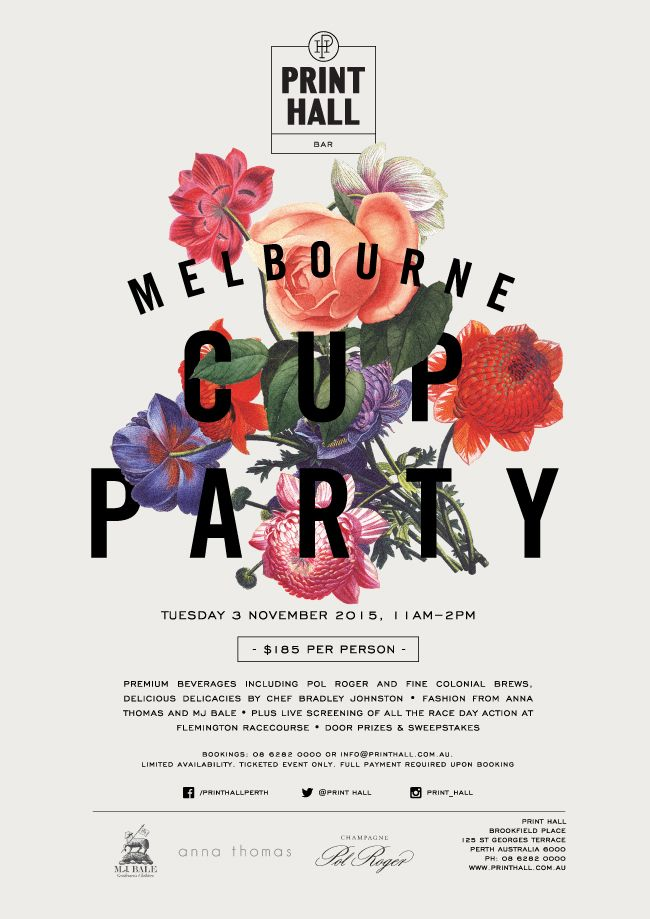 17 best Melbourne Cup & Spring Racing DIY Graphic Design Templates ...