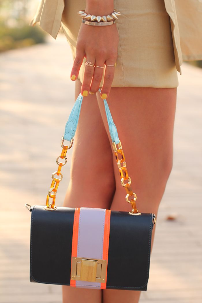 Great colorblocked bag from Urban Outfitters