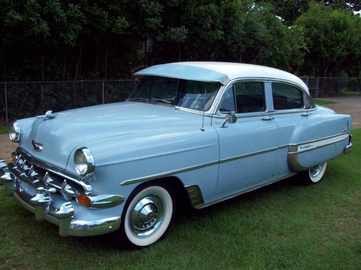 1954 chevrolet 4 door belair cars pinterest for 1954 chevy belair 4 door