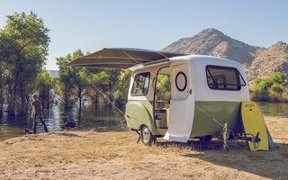 The HC1 camper is equipped with marine-quality parts and accessories that have been personally tested by the Happier Camper team.