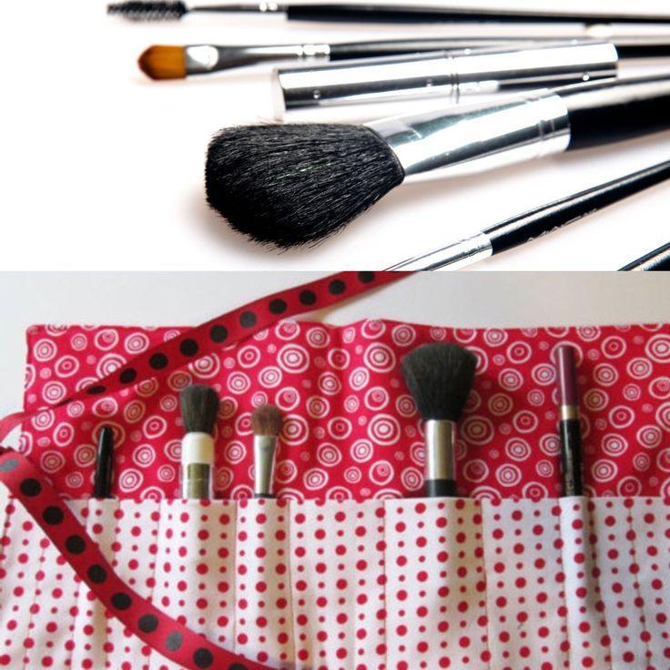 Makeup Brush Roll Makeup Brush Roll Brush Roll Makeup Brushes