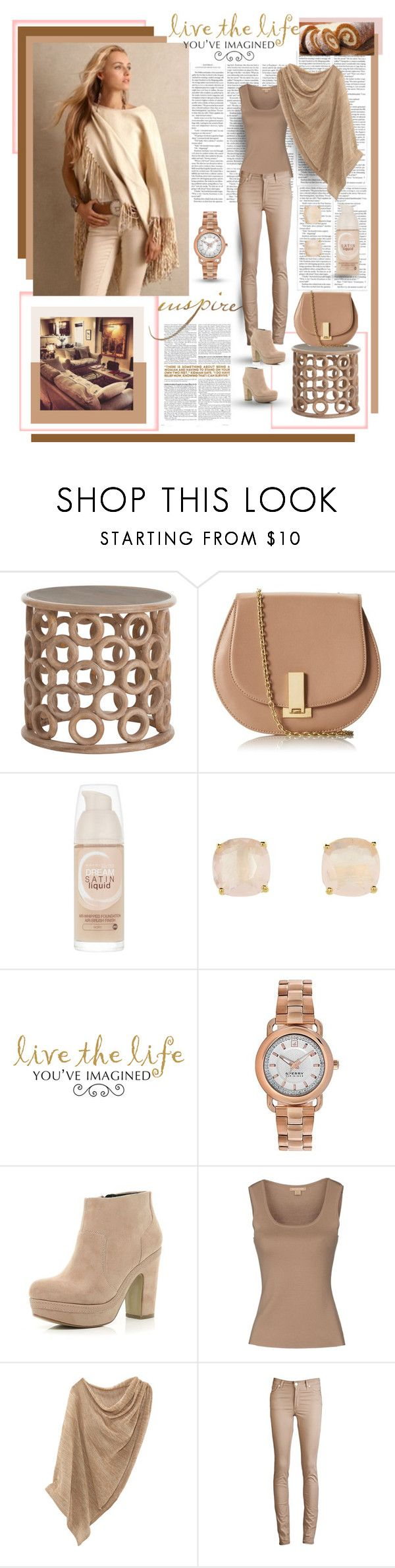 """""""Sperry Top Sider Hayden Bracelette Watch # 282"""" by dreamer1983 ❤ liked on Polyvore featuring ZAC Zac Posen, Maybelline, Kate Spade, WALL, Sperry, River Island, Michael Kors and Acne Studios"""
