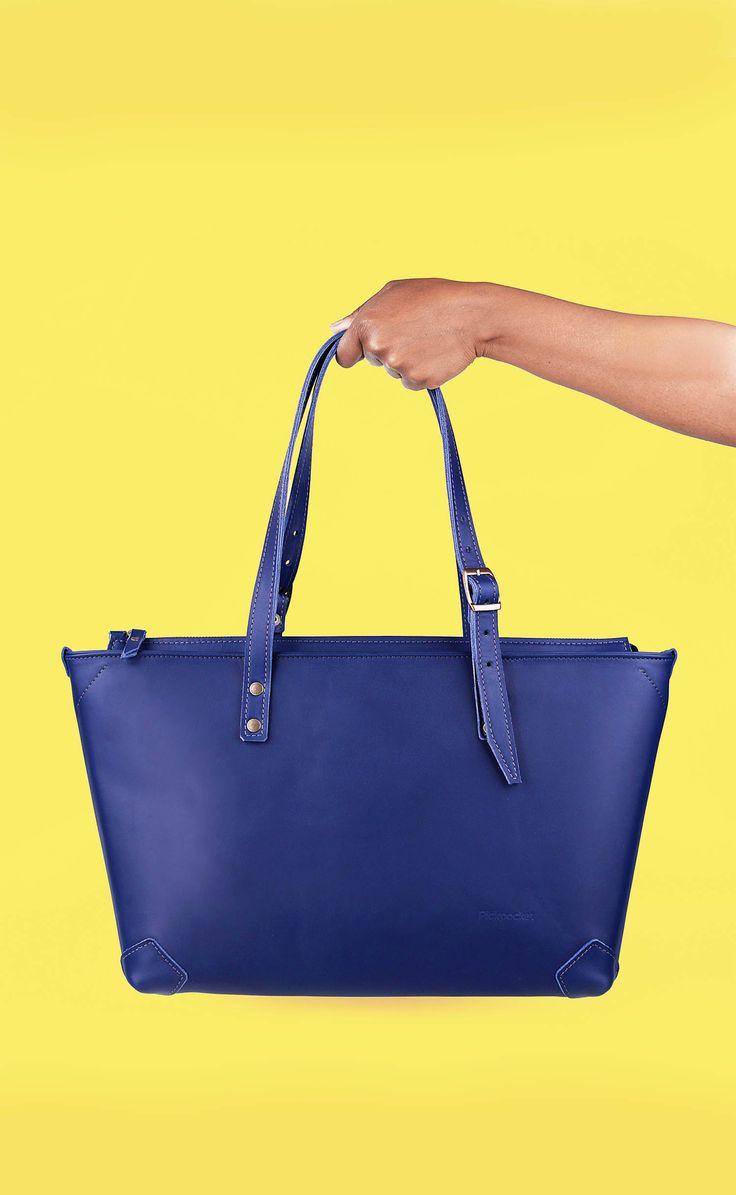 Pickpocket - Apside Bag - Leather Bag, Bag, Blue Leather, Pickpocket Bags, Pickpocketbags.
