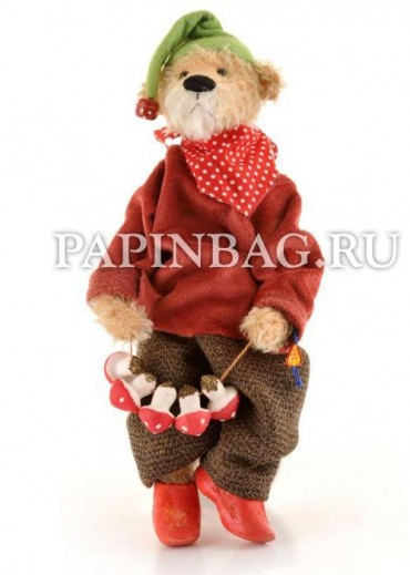 "Teddy ""Gluckszwerg  Nups"", 30 см, Limited Edition, designer  Martina Lehr"