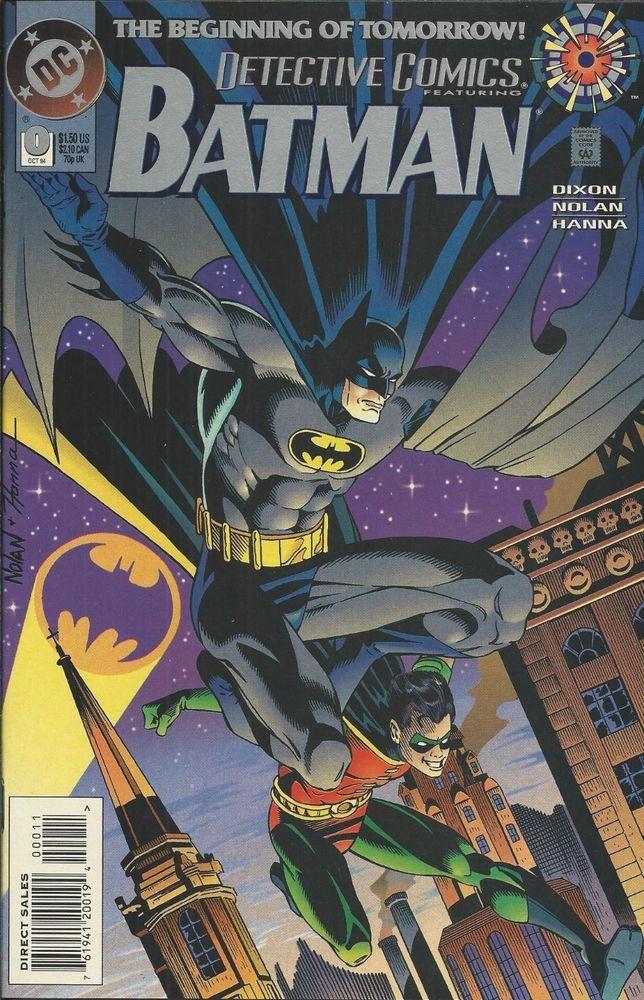 DC Batman Detective Comics issue 0