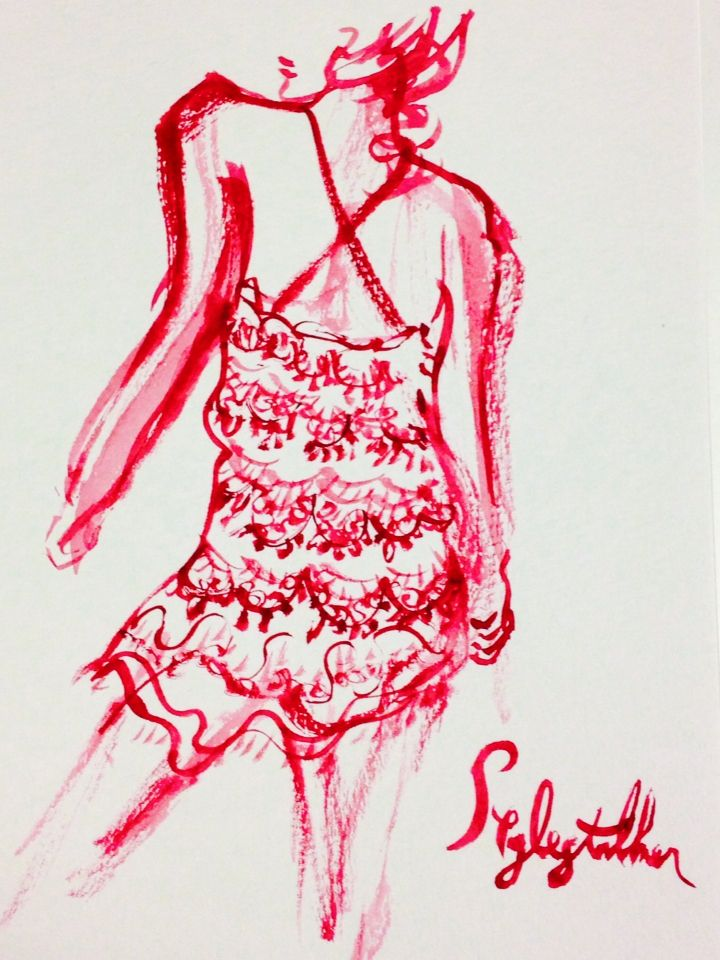 #stylestalker #fashion #illustration