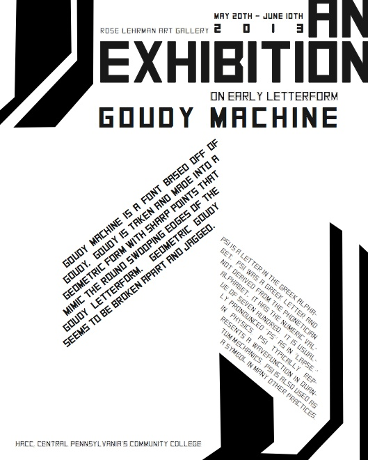 early letterform poster https www facebook com melaniewebberart design typography grid