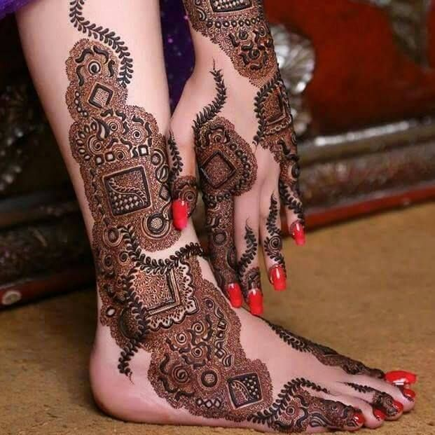 Latest Indian Mehndi Designs Images Book 2015 for Eid