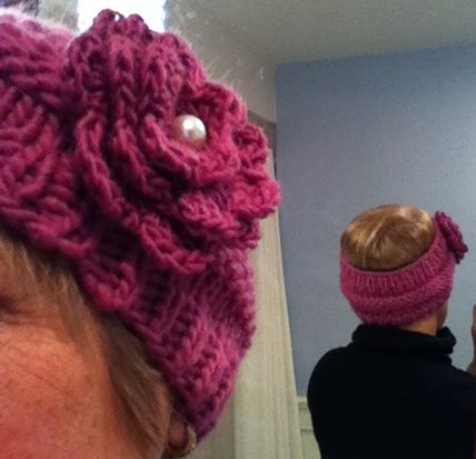 Winter Headwarmer: http://brownsheep.com/images/stories/patterns/special%20flyer2best.pdf