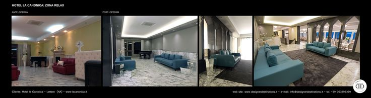 Relax Hall Restyling at Hotel La Canonica in Lettere, Naples (NA) - ITALY