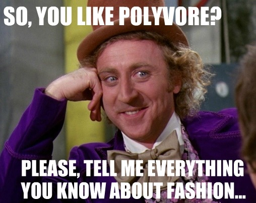 WILLY WONKA POLYVORE | quotes/funny/random | Pinterest