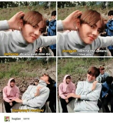 OMGGGGGGGG! MY HEART IS OH MY GAT. KYAAAAAAAAH!!! ❤ HAHA TAEKOOK IS LIFE. ❤