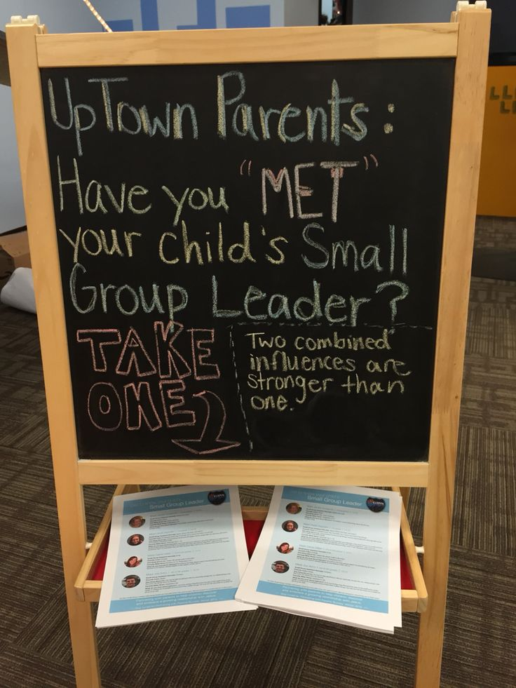 Partnering with parents Small group leader profiles