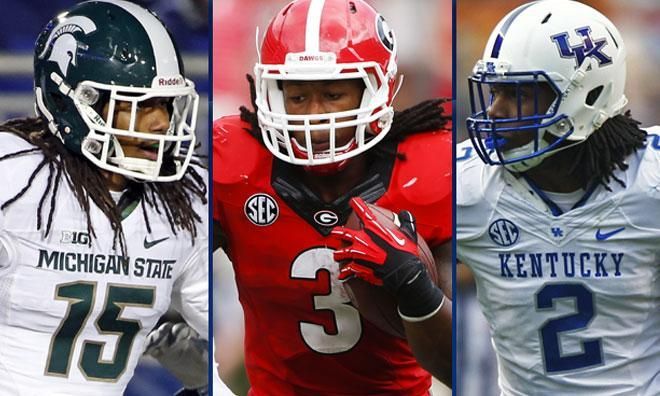 Gurley? Dupree? Ray?  See who some project the Bolts to take in the latest Mock Draft Tracker http://www.chargers.com/news/2015/02/05/mock-draft-tracker-20 …