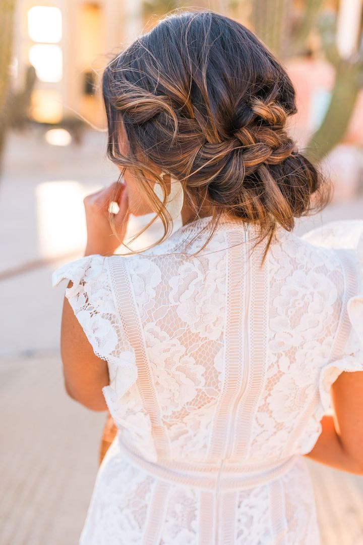 Where To Find Top Bridal Looks For Less Bridesmaid Hair Updo