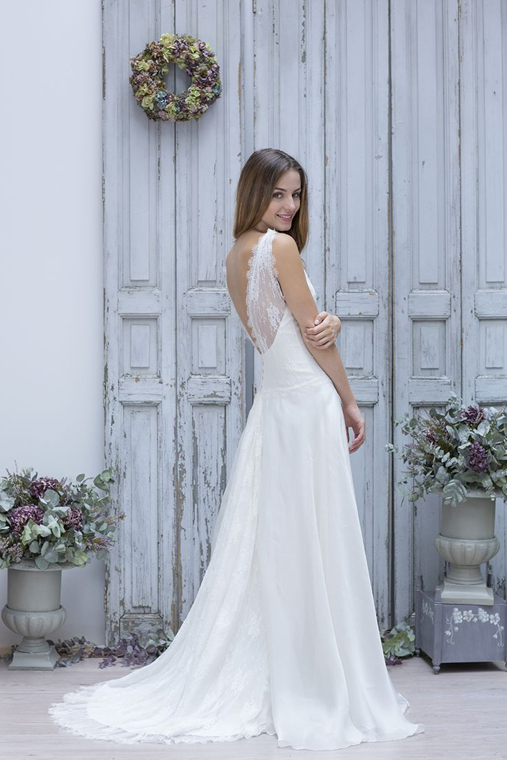 de mariée Marie Laporte  robe de mariée  Pinterest  Chic, Paris ...