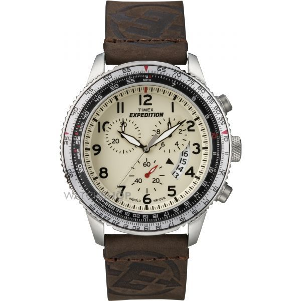 Mens Timex Indiglo Expedition Chronograph Watch T49893
