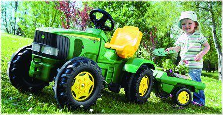 kids stuff | Peg Perego John Deere Power Loader Tractor ride on toys UK