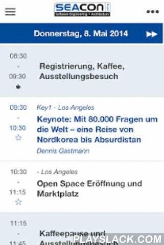 SIGS DATACOM IGuide  Android App - playslack.com ,  SIGS DATACOM, Ihr Partner für IT-Weiterbildung & FachinformationenEinfach, bequem und informativ: Jetzt den digitalen SIGS DATACOM iGuide herunter laden und auf den SIGS DATACOM Konferenzen OOP, TDWI, DW und SEACON das eigene Konferenzprogramm zusammenstellen, Vortragsunterlagen herunterladen, Bewertungen abgeben sowie Updates und aktuelle Tipps erhalten.Folgende Features stehen Ihnen mit der kostenlosen SIGS iGuide-App zur…