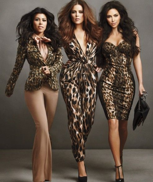 Kim, Khloe, and Kourtney Kardashian Kollection Promo Image