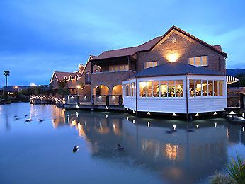 Pond at Night - Grand Mercure Nelson Monaco Apartments