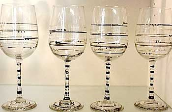 Weddings & Celebrations $20. each - Glassware Creations by Laurie