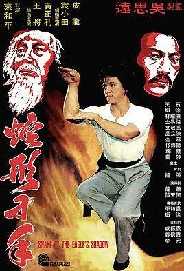 Director: Yuen Woo-Ping | Reparto: Jackie Chan, Yuen Hsiao-Tien, Hwang Jang-lee | Género: Acción | Sinopsis: Un anciano profesor de artes marciales conserva la tradición de la lucha de la cobra, y consigue formar un discípulo que además, observando la lucha entre una cobra y un gato, incorporará el estilo garra de gato. (FILMAFFINITY)