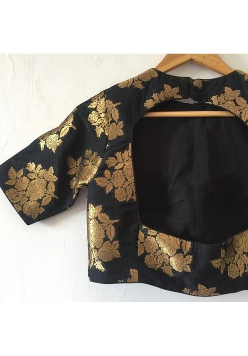 The Peach Project - Black Madison Blouse