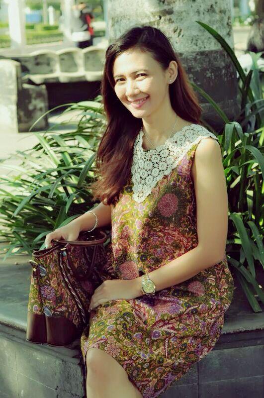 Indonesian batik #dress #bag #leather #jogja