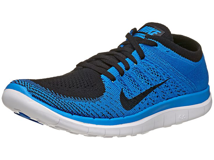 Nike Free 4.0 Flyknit Black/Photo Blue