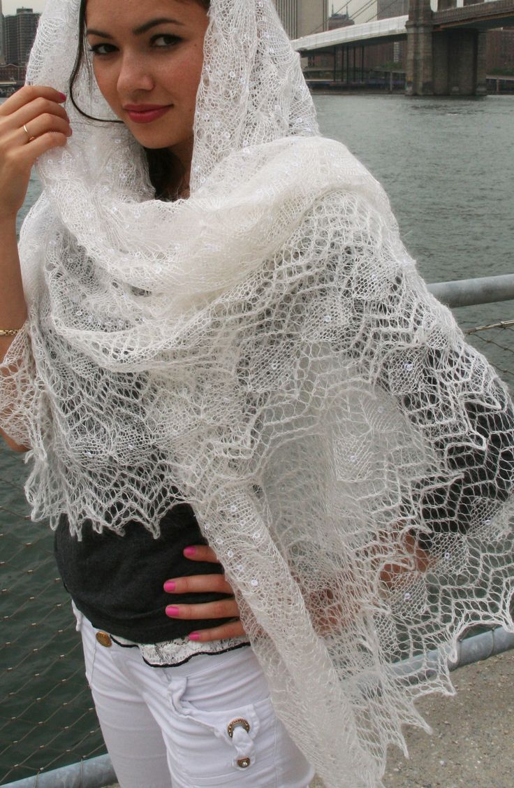 Russian lace shawl