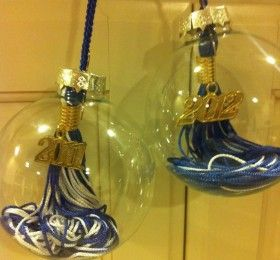 Graduation Tassel Ornament - something to do with those tassles I have: