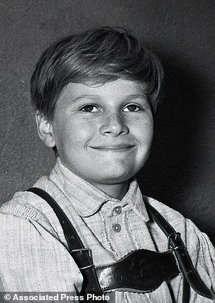 "This undated photo provided by Twentieth Century Fox Home Entertainment shows, actor Duane Chase, who plays the role of Kurt, in the film, ""The Sound of Music."" The seven young actors, including Chase, became part of cinematic history when they were cast in the film which became a classic. The 1965 Oscar-winning film adaptation of the Rodgers & Hammerstein musical ""The Sound of Music"" is celebrating its 50th anniversary this year.  (AP Photo/Twentieth Century Fox Home Entertainment)"