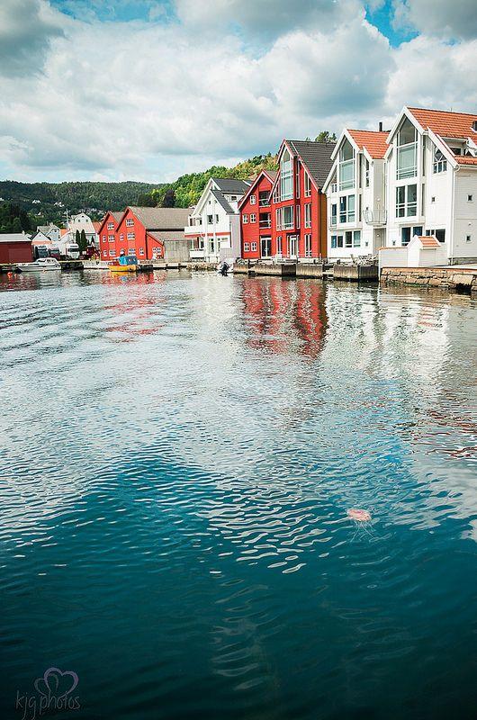 Flekkefjord harbour